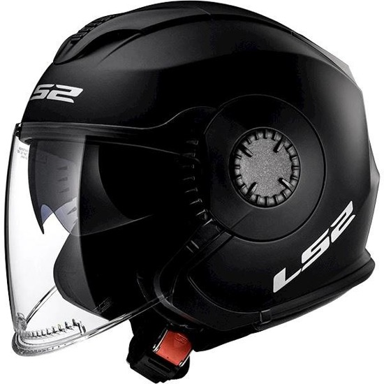Kask LS2 VERSO solid matt black